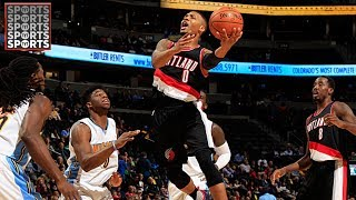 """SUBSCRIBE to TYTSPORTS for more free sports news and content!► https://www.youtube.com/tytsportsA story circulated on Thursday that if the Portland Trail Blazers traded for Carmelo Anthony, Damian Lillard would wish the Warriors """"good luck"""", as to say that they would be the best team in the West. The problem here is, Damian Lillard did not say that. What Lillard was referring to was an offense centered around four talented scorers in McCollum, himself, Nurkic and Melo and how that would be difficult to guard no matter what team you are. Draymond Green bought that news and took to Instagram to make fun of it.Leave your thoughts in the comments section below!The Timberwolves with Jimmy Butler Will Be Scary [NBA 2k]► https://www.youtube.com/watch?v=84IhuGV9L1oLebron James Mad at Dan Gilbert► https://www.youtube.com/watch?v=Bam8Jd_D-B4Rick StromTWITTER: https://twitter.com/rickstromINSTAGRAM: https://www.instagram.com/rickystromFACEBOOK: https://www.facebook.com/RickStromSports/SNAPCHAT: Frannybhoy1Francis MaxwellTWITTER: https://twitter.com/francismmaxwell?lang=enINSTAGRAM: https://www.instagram.com/francismmaxwell/FACEBOOK: http://bit.ly/TYTSportsFacebookSNAPCHAT: Frannybhoy1Jason RubinTWITTER: https://twitter.com/jasonrubin91INSTAGRAM: https://www.instagram.com/jasonrubin91/FACEBOOK :http://bit.ly/TYTSportsFacebooMEDIUM: https://medium.com/@jasonrubintytTYT Sports - one of the most dynamic sports shows on YouTube - is coming to Tune In! We cover all the latest need to know NBA, NFL, MMA, World Football [soccer] and breaking news specifically tailored to the young, dialed-in, and pop-culture savvy sports fan. Subscribe today and prepare to get hooked."""
