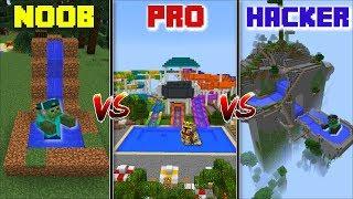 Video WATERPARK NOOB VS WATERPARK PRO VS WATERPARK HACKER / ZOMBIE TAKE OVER THE WATER SLIDE !! Minecraft MP3, 3GP, MP4, WEBM, AVI, FLV Juni 2019
