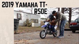 8. 2019 Yamaha TT-R50E Trail Motorcycle