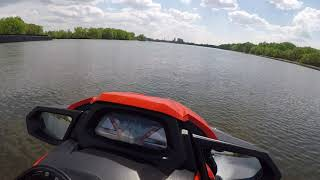 8. 2017 Yamaha vxr top speed run 69.5 mph