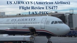 Video Flight Review US Airways (American Airlines) LAX-PHX Airbus A321 MP3, 3GP, MP4, WEBM, AVI, FLV Juni 2018