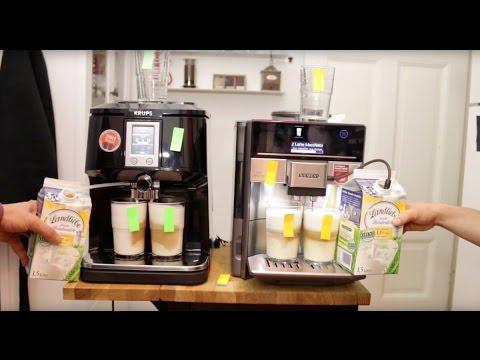 Kaffeevollautomaten Vergleich und Test: Siemens EQ.6 vs.  Krups EA 8808