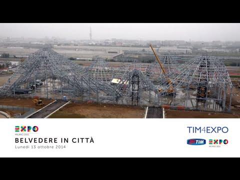Expo Milano 2015: Belvedere in città 13/10/2014