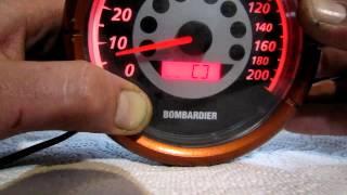 10. 2004 Rev speedometer