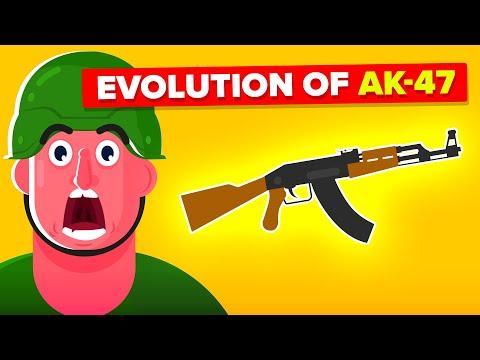 Evolution of AK-47 Rifle