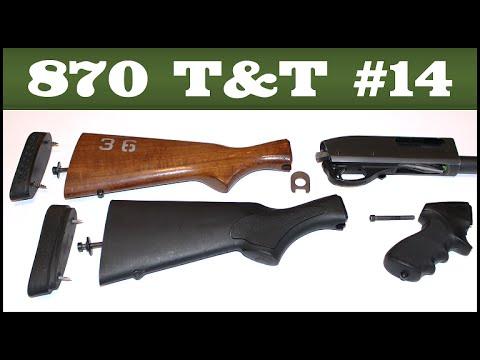 Stock Removal & Installation – Remington 870 Tips & Tricks #14