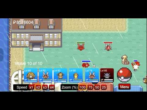 pokemon tower defense - how to beat cinnabar gym