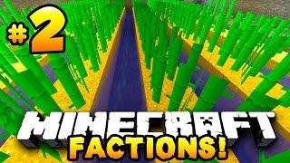 "Minecraft FACTIONS #2 ""SUGAR CANE FARM!"" - w/PrestonPlayz&MrWoofless"