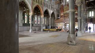 Time Lapse: Pew Removal at the Cathedral