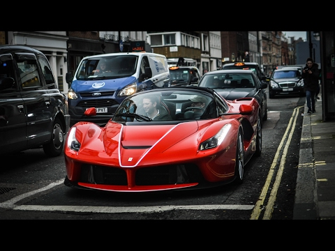 Ferrari Laferrari London  photos