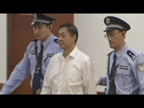 Bo Xilai trial: Ousted Chinese politician denies one charge of corruption