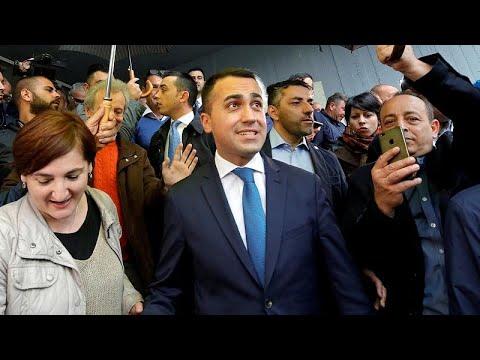 Italien: Fünf-Sterne-Chef Luigi Di Maio wurde im Amt  ...