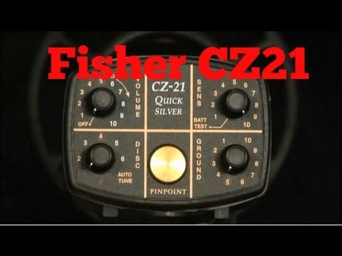 Fisher Research Labs CZ-21 Quick Silver Premium Underwater Detector