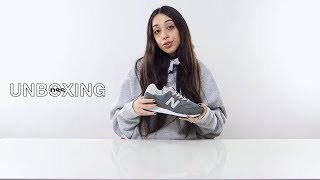 Unboxing the New Balance 574
