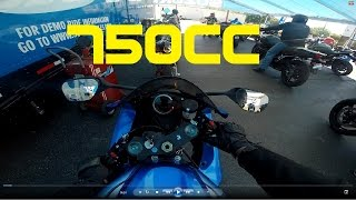 10. 2016 GSXR 750 FIRST RIDE...REACTION!!