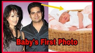 Karan Mehra (Naitik of Yrkkh) and his wife shared frst Photo of their 10day old baby boy❤️Dont miss Video
