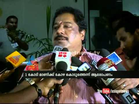Bar association representative BiJu Ramesh response on scam allegation against KM Mani 31 October 2014 11 PM