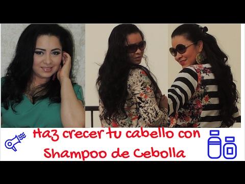 Shampoo de Cebolla para detener la caída y estimular el crecimiento del cabello*