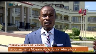 Turkish President Erdogan is leading a delegation that hopes to boost trade and economic ties in Mozambique. Fidelis Mbah has...