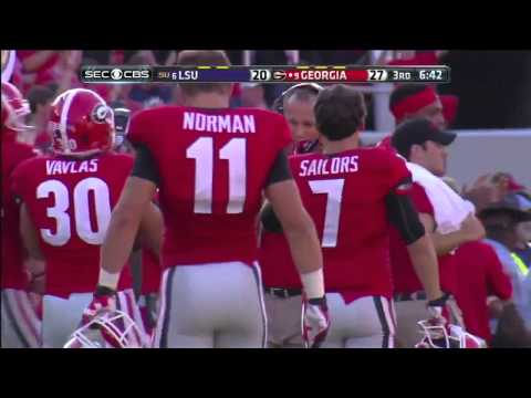 Marshall Morgan 55-yard LSU 2013 video.
