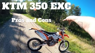 9. KTM 350 EXC-F Pros and Cons (Motorcycle Reviews)