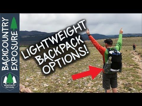 Choosing A Lightweight Backpack   Lightweight Backpacking Series