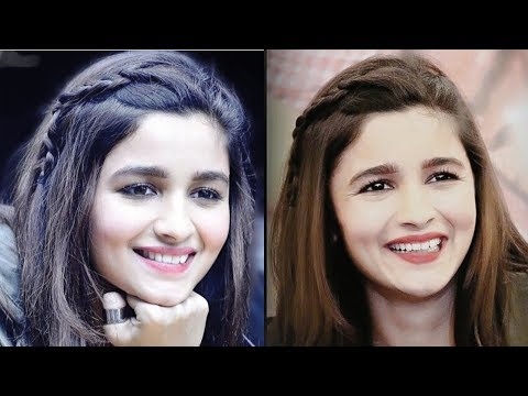 Braid hairstyles - Easy hairstyle  Alia bhatt hairstyle  braid hairstyle  hair style girl  simple hairstyle