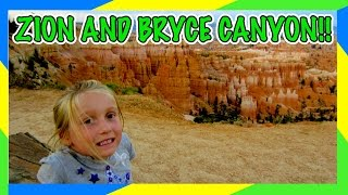 Bryce Canyon National Par United States  city pictures gallery : ZION AND BRYCE CANYON NATIONAL PARKS IN ONE DAY!