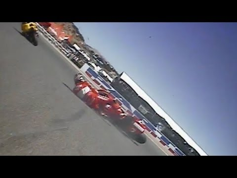 classics - Relive the superb premier class race from Laguna Seca in 2005, with the likes of Nicky Hayden & Colin Edwards gunning for glory on home soil, chased down by ...