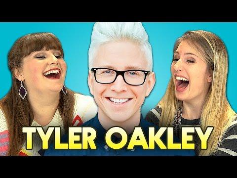 TEENS REACT TO TYLER OAKLEY