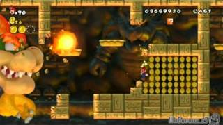 (ITA) Let's Play New Super Mario Bros. Wii - Mondo : 8-Bowser Castle