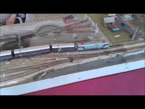 Modello ferrovia  4^ edizione della Mostra del Modellismo