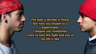 twenty one pilots- Chlorine (Lyrics) {HeyLyrics}