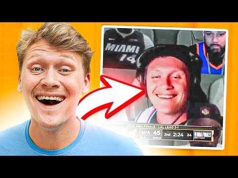 I Was In The NBA FINALS!