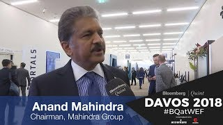 WEF 2018: Anand Mahindra On PM Modi's Speech