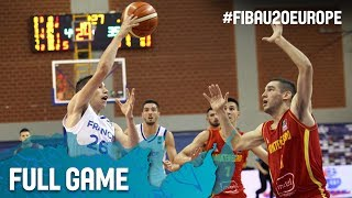Watch France v Montenegro at the FIBA U20 European Championship 2017. ▻▻ Subscribe: http://fiba.com/subYT Click here for more: ...