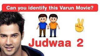 Nonton Varun Dhawan Emoji Challenge! Guess Bollywood Movies Film Subtitle Indonesia Streaming Movie Download