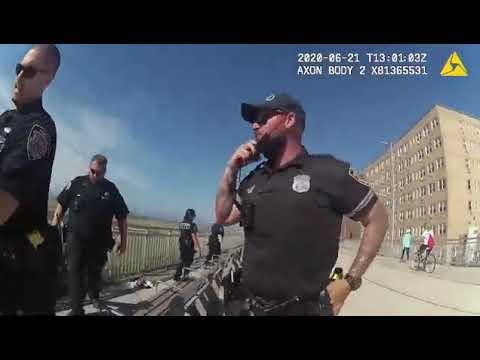NYPD BODYCAM: Arrest after Cops Harassed | Rockaway Queens