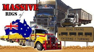 Video DIESEL DUST & DIRTY WATER! Massive Road Trains Extreme Australian truck oversize COMPILATION MP3, 3GP, MP4, WEBM, AVI, FLV Agustus 2018
