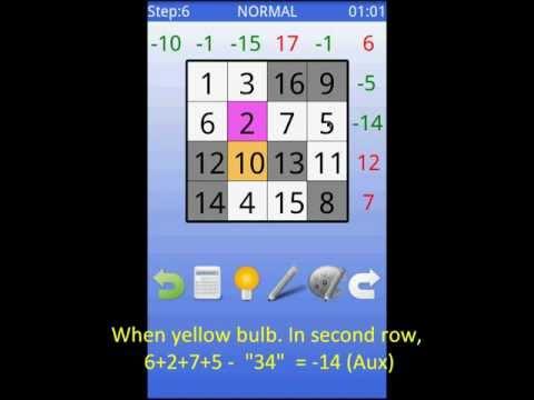 Video of Magic Square (Beyond Sudoku)