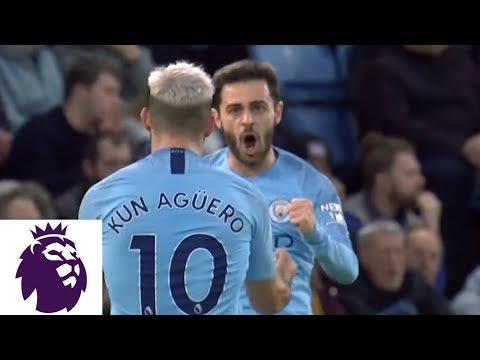 Video: Man City take lead through a Bernardo Silva goal v. Leicester City | Premier League | NBC Sports