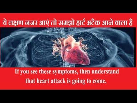 ये लक्षण नजर आए तो समझो हार्ट अटैक आने वाला है     sign of heart attack in hindi    how to avoid