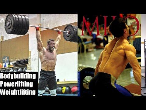 BODYBUILDING. POWERLIFTING. WEIGHTLIFTING.