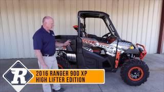 4. Polaris Ranger XP 900 High Lifter Edition