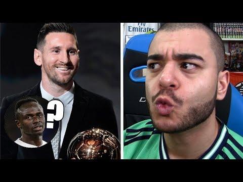 Messi Ballon d'or 2019. (Mané absent du podium, Van Dijk se moque de Cr7 ?)