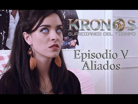 """Episodio 5: """"Aliados"""". Serie web sci-fi """"Kronos, guardianes del tiempo"""""""