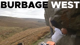 Twin Peaks || Double 7A's at Burbage West by Bouldering Bobat