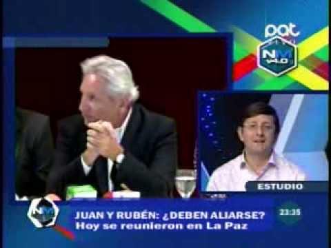 No Mentiras: Oscar Ortiz y Fabian Yaksic hablan sobre la reunión de Rubén Costas y Juan del Granado