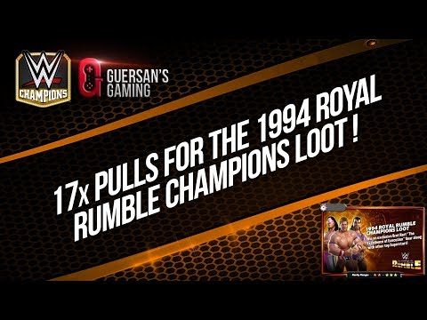 17x Pulls for the 1994 Royal Rumble Champions Loot / WWE Champions 🍀