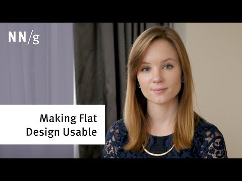 Making Flat Design Usable